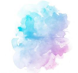 彩色水墨背景图片