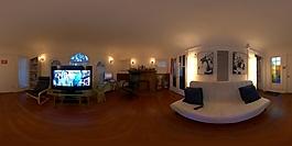 HDR起居室环境贴图
