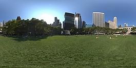 HDR室外草地环境贴图