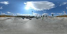 HDR溜冰场地环境贴图
