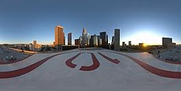 HDR直升机场环境贴图