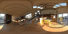 HDR客厅展开环境贴图