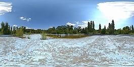 HDR室外场地环境贴图