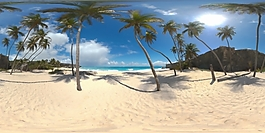 HDR沙滩环境贴图