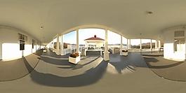 HDR过廊环境贴图
