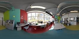 HDR办公区环境贴图