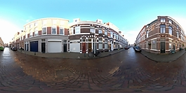 HDR街景贴图
