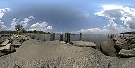 HDR海边环境贴图