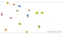 动态碎片下落动画素材图片
