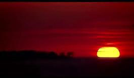 太阳升起视频素材图片