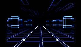 光效無限穿梭視頻素材圖片