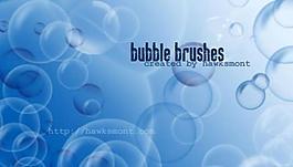 氣泡筆刷圖片