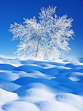 冰天雪地背景圖片