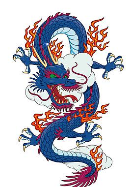 中國龍  龍的圖案