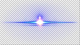 鏡頭光暈透明素材2