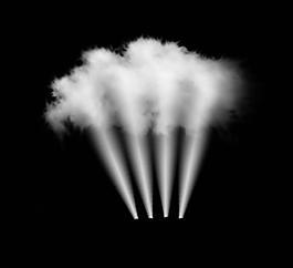 煙霧云設計圖圖片