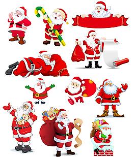 节日素材圣诞老人圣诞节