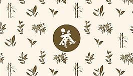 茶葉花紋圖片