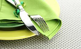 刀叉西餐餐具高檔餐具圖片