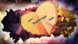 溫馨浪漫的結婚AE視頻素材