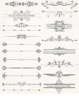 歐式花紋背景底紋設計圖片