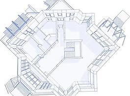建筑系列矢量4