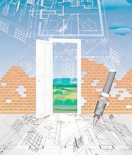 建筑系列矢量7