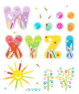 46系列矢量字體設計