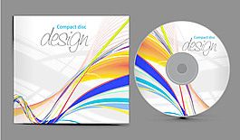 动态CD封面矢量