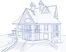 建筑系列矢量3