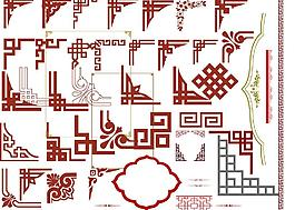 古典花邊邊框圖片