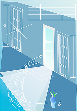 建筑系列矢量6