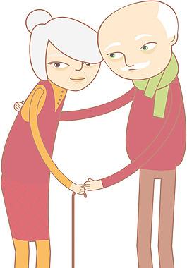 幸福的夫妇和情侣向量