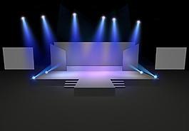 立体舞台图片