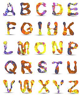 41系列矢量字體設計
