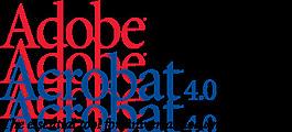 Adobe Acrobat 4標志