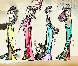 四大美女圖片