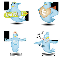 推特圖標AI和PNG格式