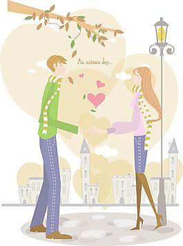 8新鮮的愛人向量