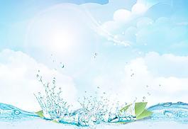 清新背景 藍天圖片