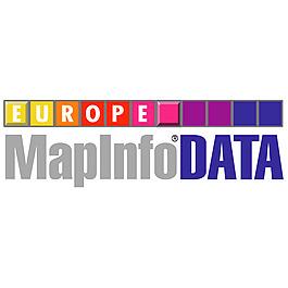 MapInfo數據歐洲