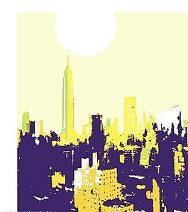 轉為cdr格式的城市矢量圖(cdr格式)圖片