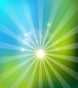 光线矢量背景图