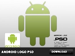 Android的标志PSD