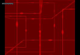 紅色電路特效