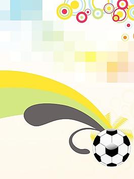 足球拼接的背景