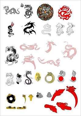 龍,龍圖案