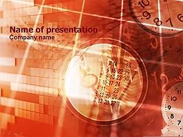 經濟學教學PPT模板
