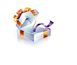 礼物盒 礼盒包装 插画素材