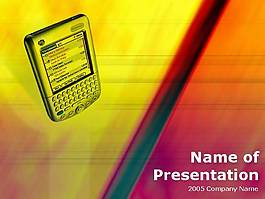 PDA商務PPT模板